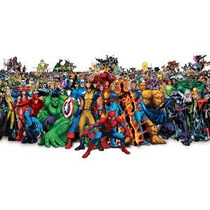 150 Moldes Silicone P/artesanato Tema: Super Heróis P/enc