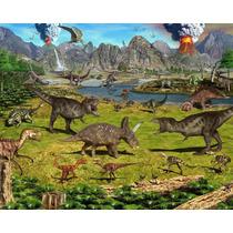 200 Moldes De Silicone P/chocolate Tema:dinossauros P/ Enc