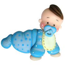Molde Silicone Para Biscuit Bebê Engatinhando.