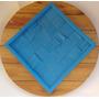 Forma De Silicone Liquido Azul Imitando Madeira Rustico