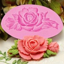 Molde Silicone Formato Forma Flor Bolos Chocolates