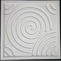 Forma De Silicone Para Placas De Gesso 3d 50x50 -mogi Cruzes