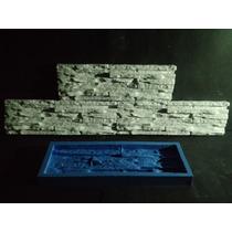Forma Silicone Mosaico 3d Gesso Canjiquinha 10,5x34 Cm