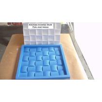 Forma De Silicone Placa Decorativa Almofada Investida 30x30