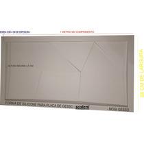 Forma De Silicone Para Placa De Gesso Scaleni 1,50 X 0,50cm