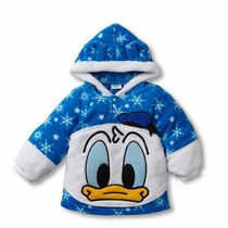 Casaco Em Fleece Pato Donald