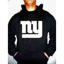 Moletom New York Giants Nfl Futebol Americano Capuz Canguru