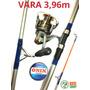 Kit Pesca Praia Costão - Vara 3,96m+molinete 6000+linha 500m