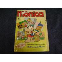Gibi Monica Nº 10 - Outubro 1987 - Editora Globo
