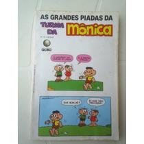 As Grandes Piadas Da Turma Da Mônica Nº 20 - Editora Globo