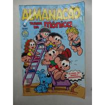 Almanacão Turma Da Mônica Nº 9! Ed. Globo Out 1998!