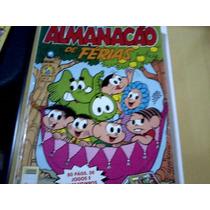 Revista Almanacão De Férias Turma Da Mônica Nº21