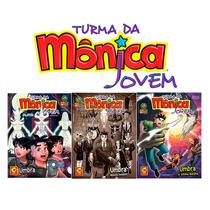 3 Revistas Turma Da Monica Jovem Saga Umbra 74 75 E 76