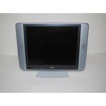 Monitor 17 Fujitsu C/ Defeito P/ Peças Ou Decoração/vitrine