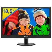 Philips Monitor Led - Philips V-line 196v4lsb2 18.5