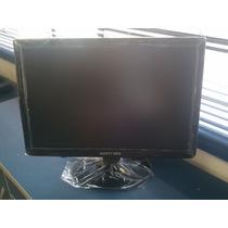 Monitor Tv Lcd 19+filmadora Digital Aiptek Gohd+cabo Hdmi