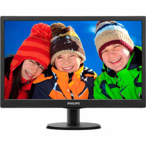 Monitor 18,5 Led Philips Hdmi Vesa 193v5lhsb2 Mania Virtual
