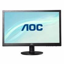 Monitor Aoc Led , 14 Polegadas, Ultrafino - Novíssimo