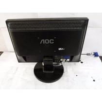 Monitor De Lcd Aoc 15 Polegadas Com Audio Integrado