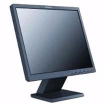 Monitor Lcd 17 Polegadas Lenovo Preto Quadrado Mod 4428 Ab1