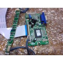 Pci+teclado+cabos Monitor Lg / Positivo L177ws L177wss -ok!!