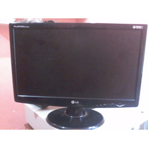 Monitor Lcd Widescreen 20 Lg Flatron W2043s Pequeno Defeito
