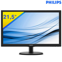 Monitor Philips Led 21,5 Full Hd1920x1080 223v5lhsb2
