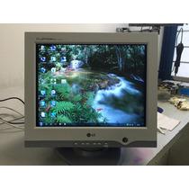 Monitor Lg 17 Polegadas Flatron Ez T710sh Em Ótimo Estado!