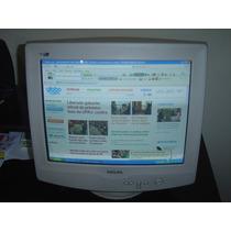 Monitor Philips 17 - Modelo 107-s - Funcionando 100%