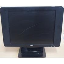 Monitor Hp Vp15s - 15p Lcd Som C/pequeno Arranhado!usado!
