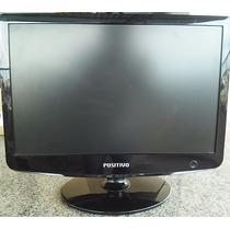 Monitor Lcd Positivo Widescreen 17 Po17pensfr/xaz