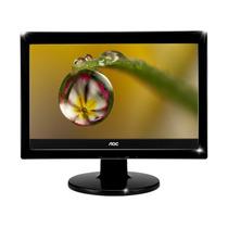 Monitor Widescreen 15 Aoc Modelo 519sw+cabos!super Promoção!