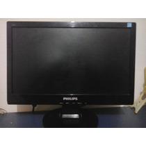 Monitor Lcd 15 Pol. Widescreen 160e Philips Com Defeito.