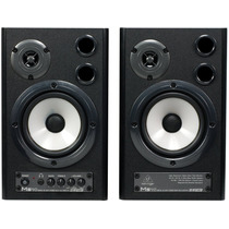 Ms40 Monitor Behringer Ms-40 Ativo Par Woofer 40 Watts Novo