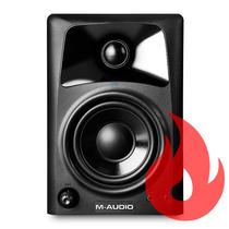 M-audio Av32. Par De Monitores De Áudio . Loja . Nf + Gtia !