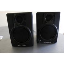 Par Monitor Referência Studiophile Av30 M-audio (no Estado )