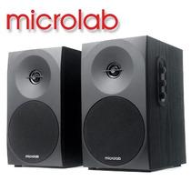 Par De Monitores Ativos Microlab B-70 C/ 20watts Rms Bivolt