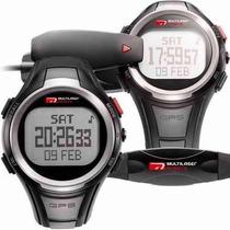 Kit Relógio Monitor Cardíaco Com Gps Velocidade Distância