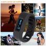 Pulseira Pedômetro/monitoramento/distancia/caloria/sono/foto