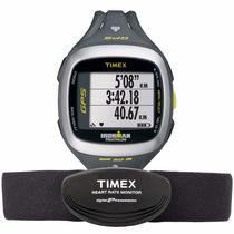 Relógio De Corrida Com Monitor Cardíaco E Gps Timex Ironman