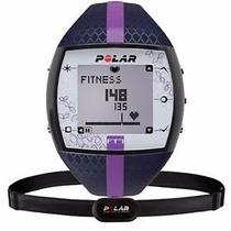 Relógio Monitor Cardíaco Polar Ft7 Azul/ Lilás Frete Grátis