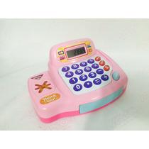 Caixa Registradora Eletrônica Infantil Brinquedo