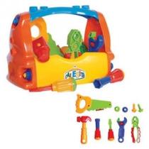 Caixa De Ferramentas Calesita Brinquedo