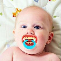 Bico Modelo Dente Divertido Engraçado Infantil Criança Bebe