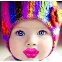 Bico Modelo Beijinho Divertido Engraçado Infantil Bebe