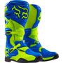 Bota Trilha Cross Fox Comp 8 Azul Amarelo - Us 11 Br 42/43