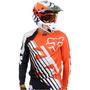 Camisa Fox 360 Ktm Ii Laranja M(m) Rs1