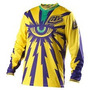 Camisa Troy Lee Cyclops Juvenil Yellow Motocross Velocross