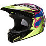 Capacete Fox V1 Radeon Verde Motocross, Motoqueiro, Moto