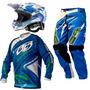 Kit Equipamento Pro Tork Insane 3 + Capacete Squad Motocross